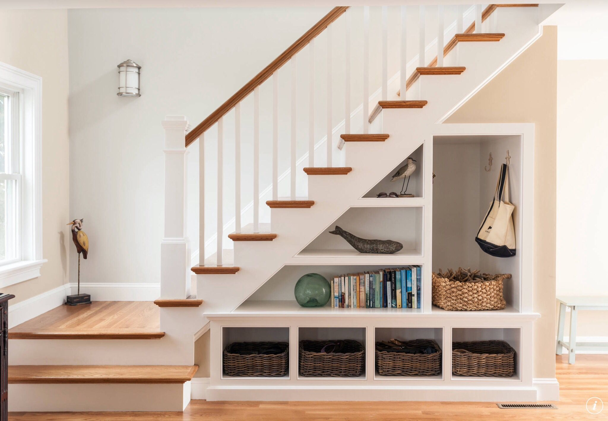 Creating Storage Underneath Your Stairs